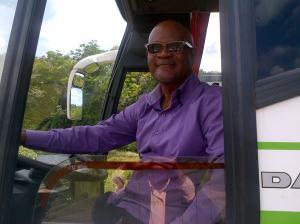Le chauffeur du bus Fred